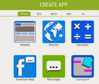 Cara membuat aplikasi android gratis2