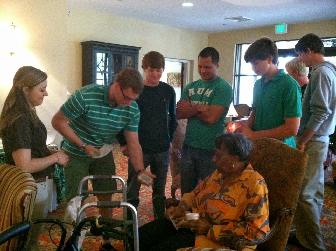 Montgomery Catholic Throws St. Patrick's Day Party at Wesley Gardens 1