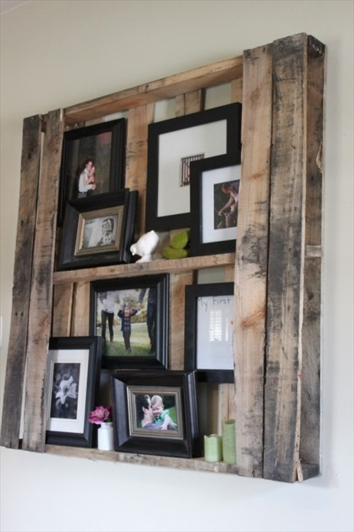 DIY Pallets of Wood   Plans and Projects  Pallet Furniture Ideas