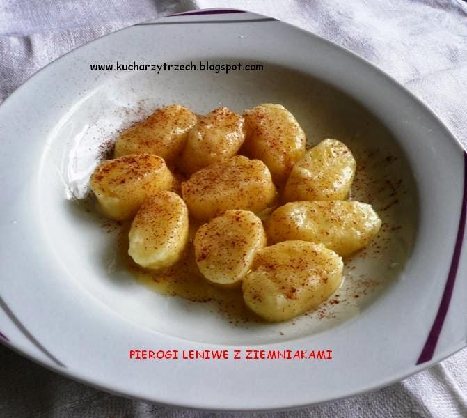 Nasze Kuchenne Smaki Pierogi Leniwe Z Ziemniakami