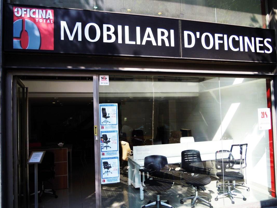 Oficina total empresa de mobiliario de oficina en barcelona for Mobiliario oficina barcelona