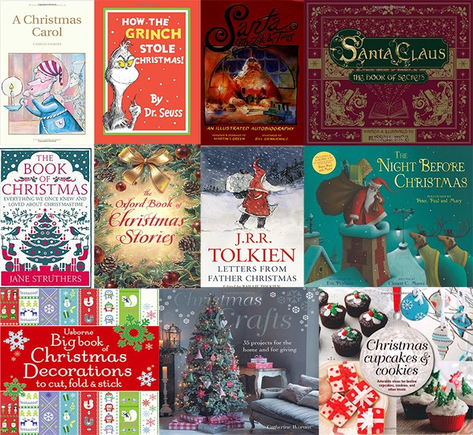 A list of Christmas books