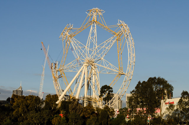 southern star observation wheel under reconstruction