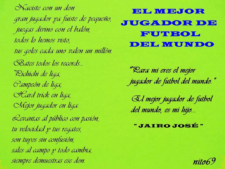 EL MEJOR JUGADOR DE FUTBOL DEL MUNDO ( quiero que vuelvas a jugar ).