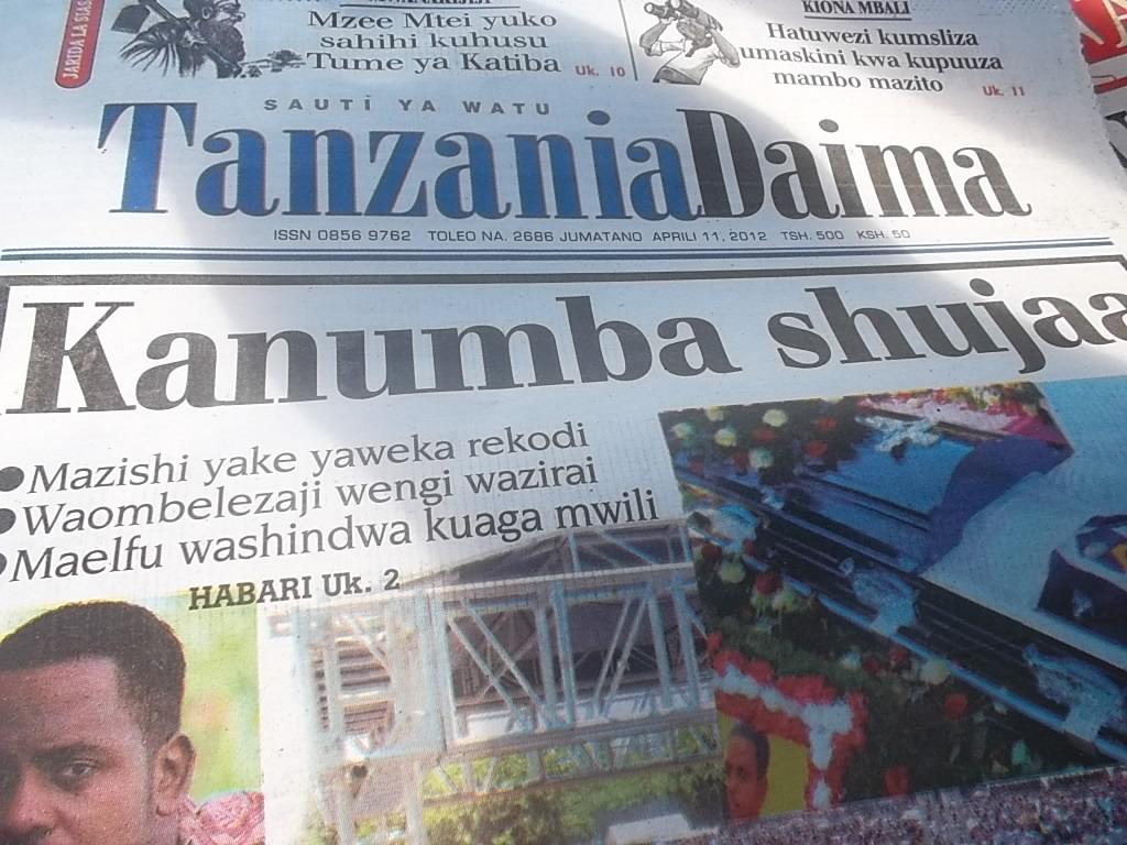 Kanimba kweli tumethibisha , mazishi yake yamekuwa na rekodi ya