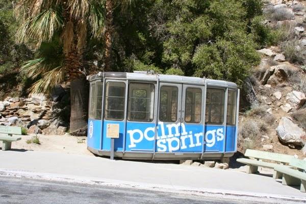 Old Palm Springs tram car