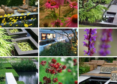 Decoraci n de jardines modernos en casas urbanas por for Ejemplos de jardines