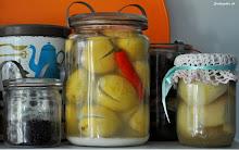 Opskrift på saltede citroner