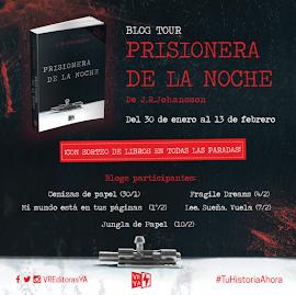 Blog Tour Prisionera de la noche