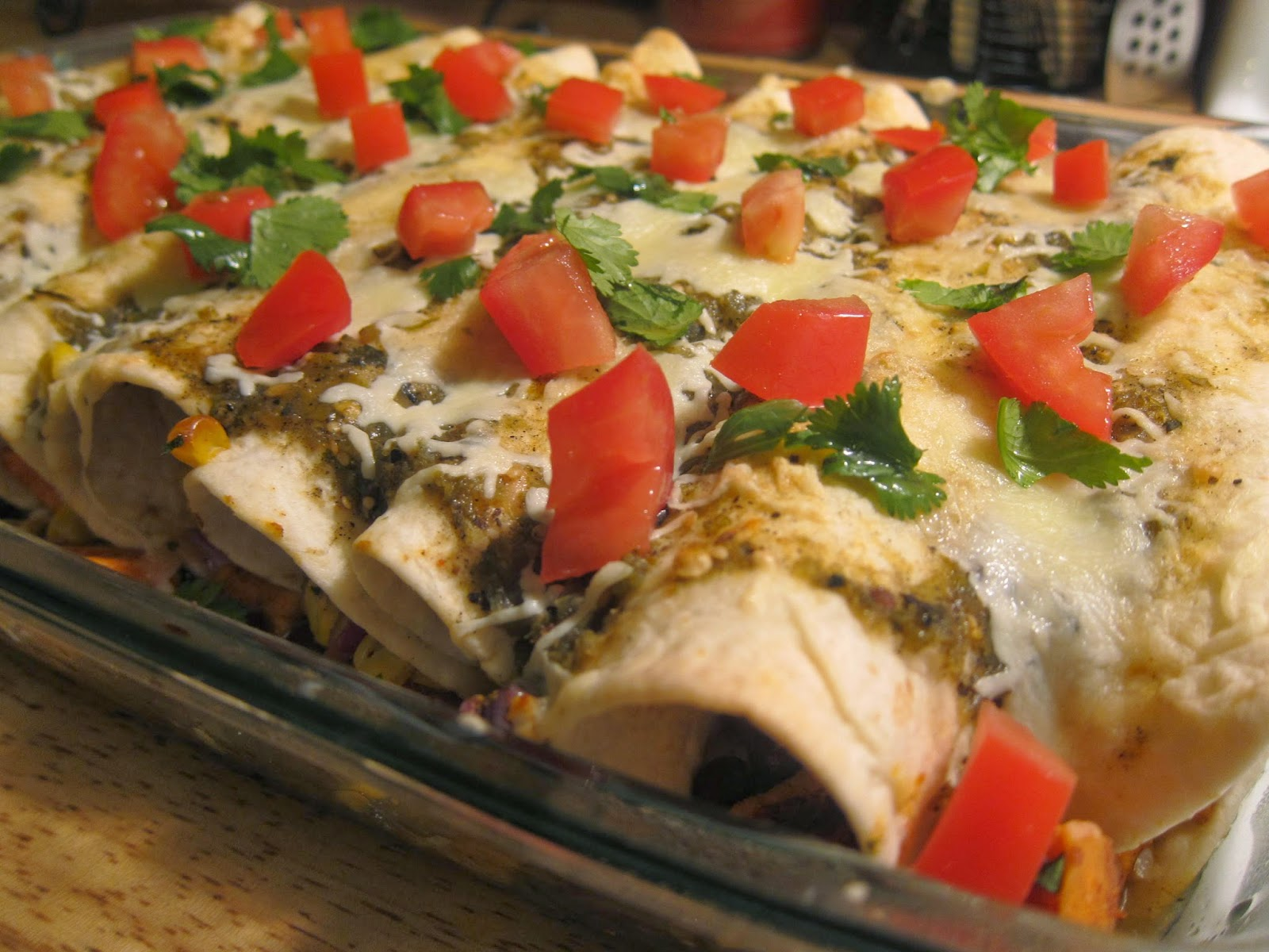 Sweet Potato & Black Bean Enchiladas | The Economical Eater