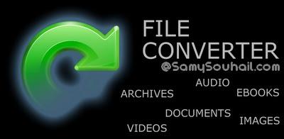 موقع رائع جدا لتحويل جميع صيغ الصوت، الفيديو، الصور.. والمزيد