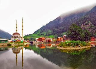 بحيرة أوزون غول، أوزونجول، طرابزون، تركيا