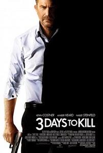 Poster original de 3 días para matar