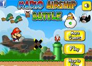 juegos mario airship battle