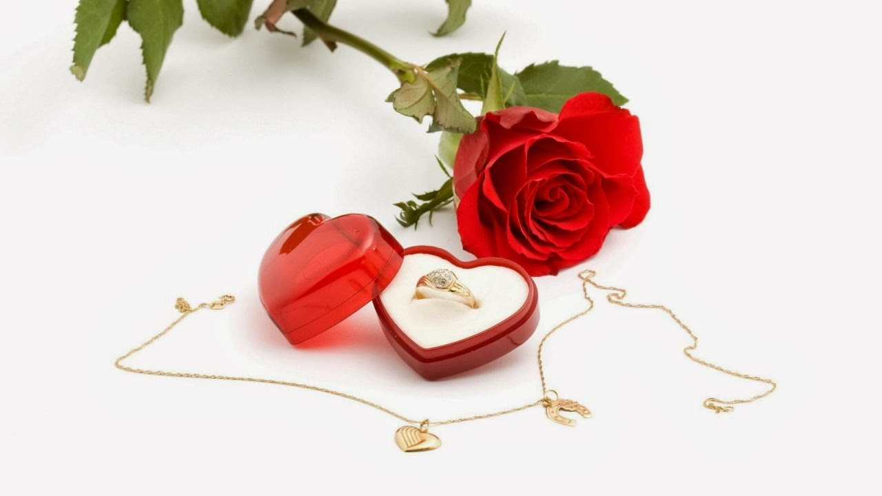 Red rose happy valentine day wallpapers download