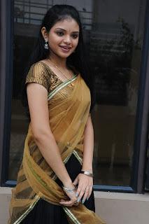 Supraja Spicy Telugu Beauty in Saree Latest Pics