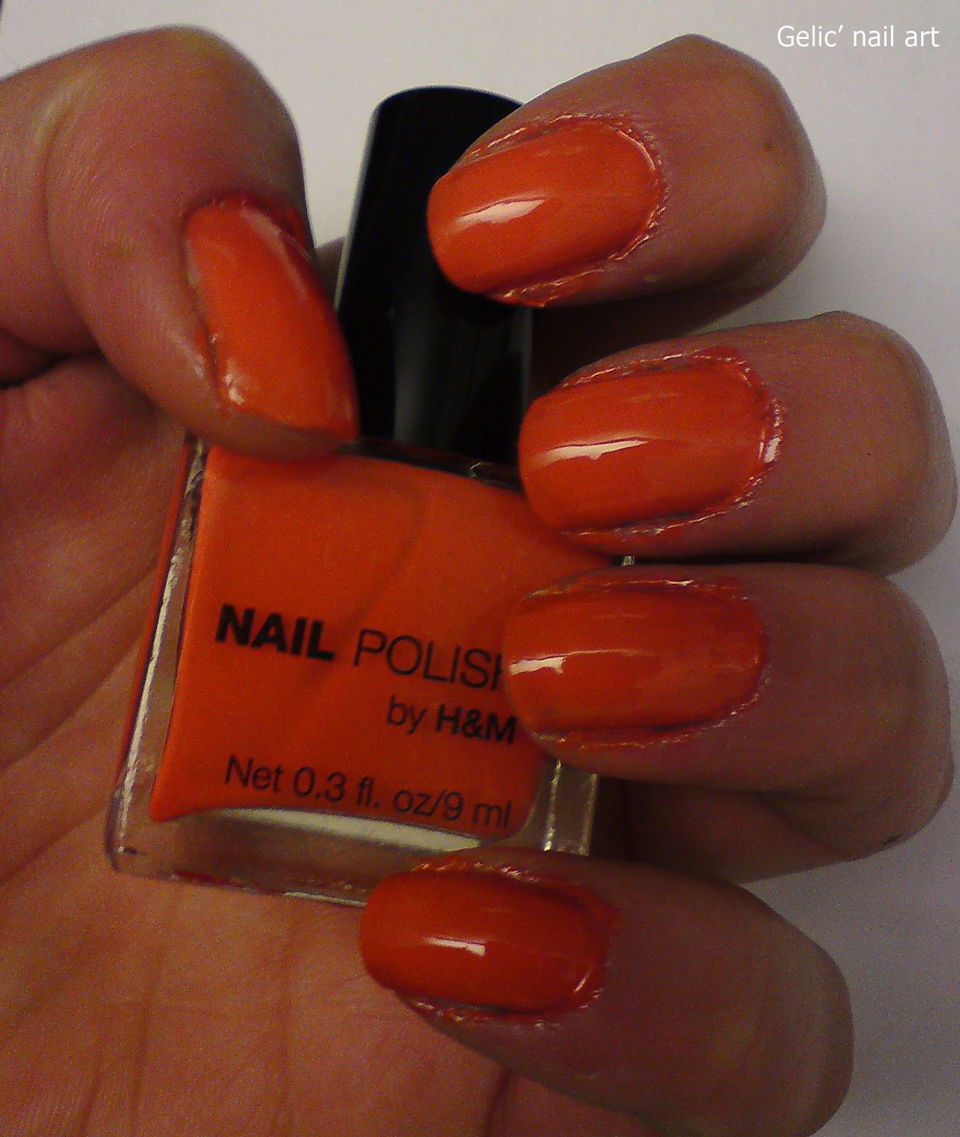 dark orange nail polish - HD 1352×1600