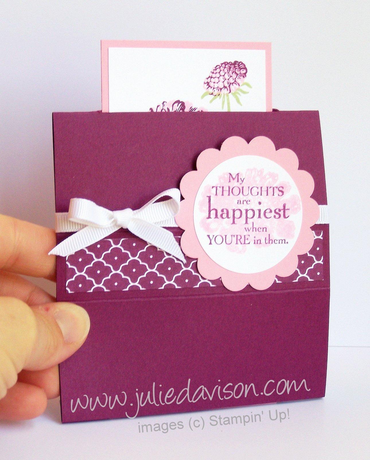 Julies Stamping Spot Stampin Up Project Ideas By Julie Davison