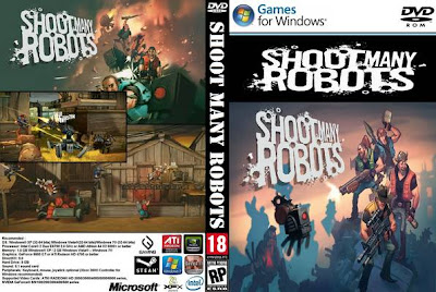 Shoot Many Robots PC DVD Capa