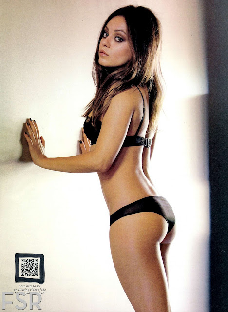 Hot Mila Kunis Esquire magazine2012