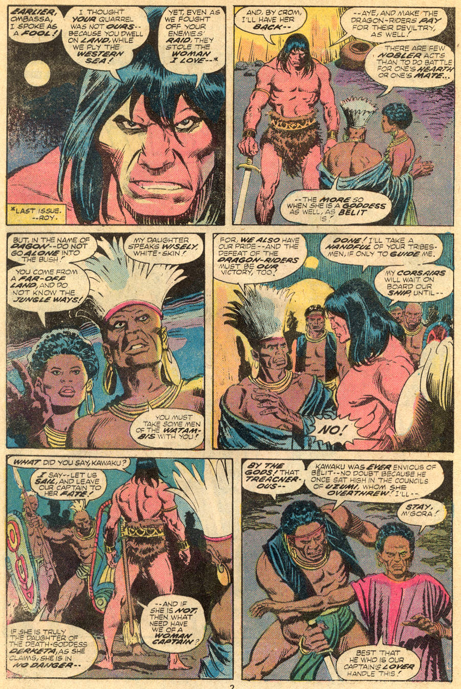 Conan the Barbarian (1970) Issue #61 #73 - English 3