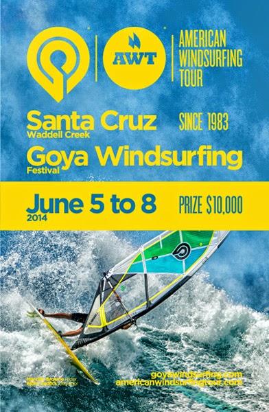 Santa Cruz Goya Windsurfing Festival, N. California