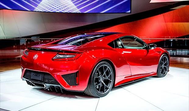 Mobil Supercar Honda Acura NSX