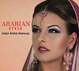Arabian Style Asian Bridal Makeup Tutorial 2015 - Fashion ...