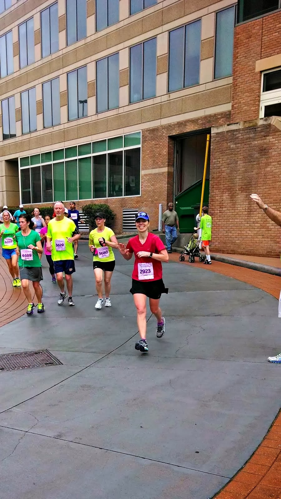 Recent Races: The Woodlands, TX, Half Marathon