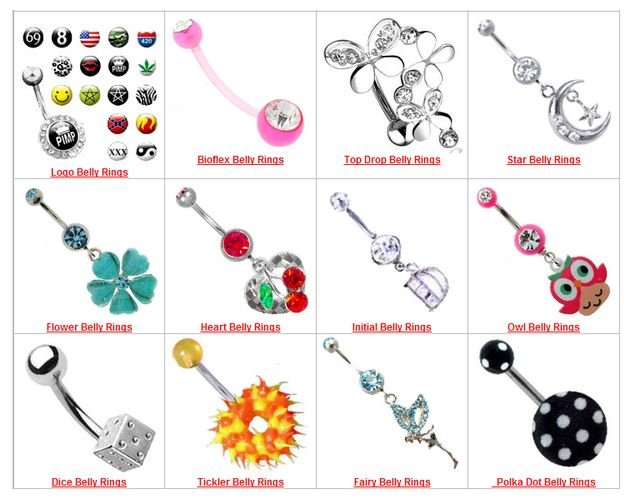 Great Saint Valentine Gifts - Natural Body Jewelry