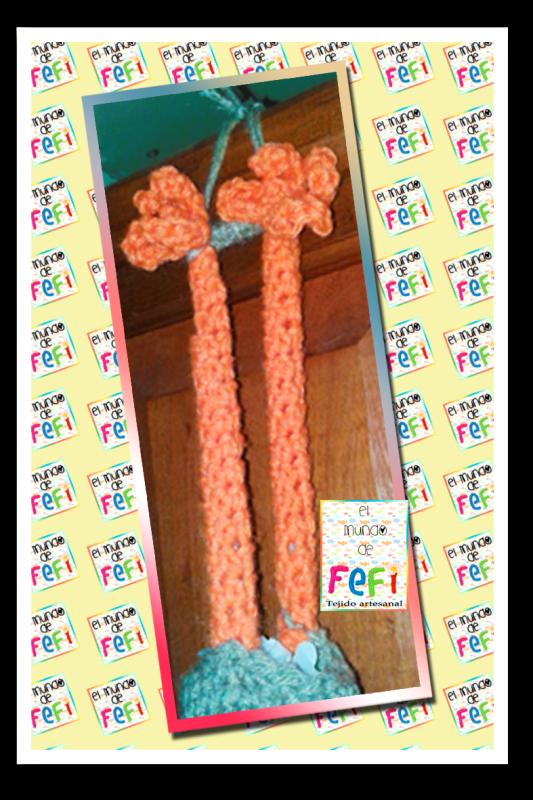 El mundo de Fefi: Gallina para bolsas al crochet !