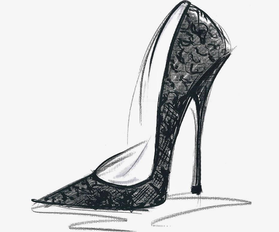 chaussure de verre louboutin