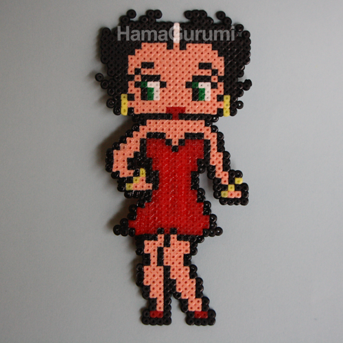 Trabajos HamaGurumi (Mini) Betty_boop_hama_beads