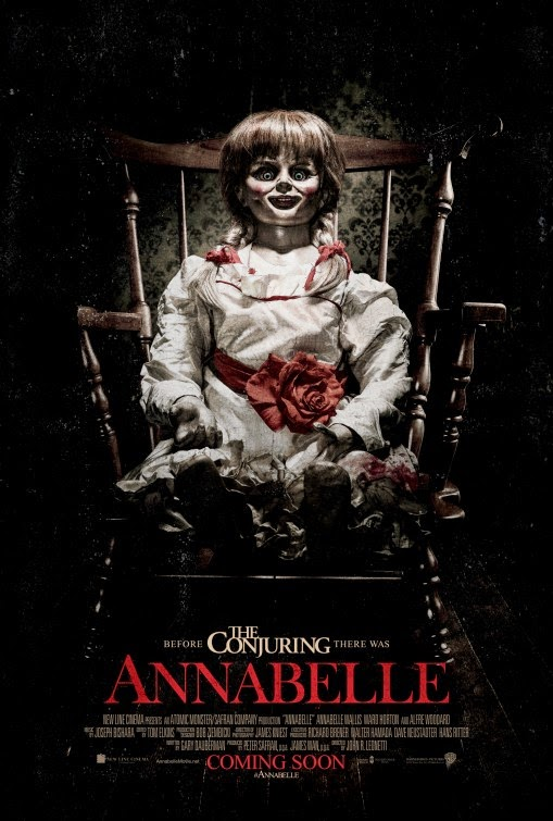 annabelle horror movie poster