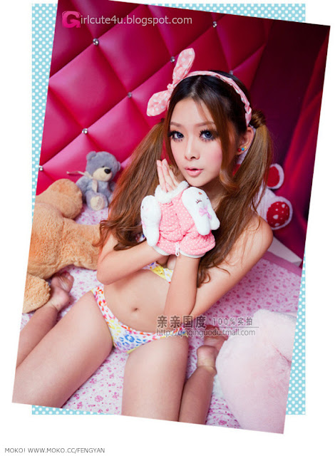 5 Feng Yan - Sweet and sexy style-very cute asian girl-girlcute4u.blogspot.com