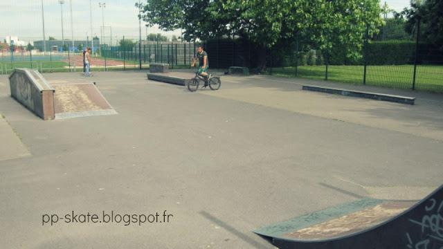 Skate park Lesquin