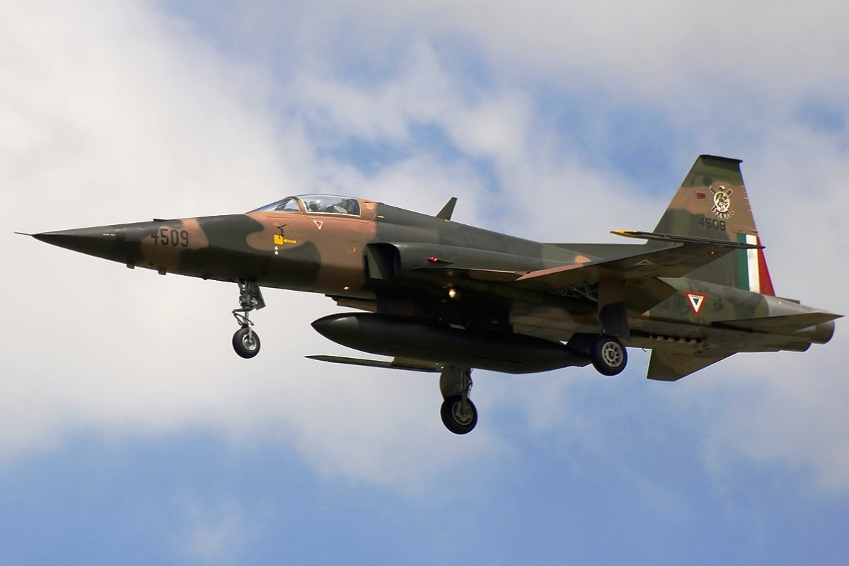 Northrop F-5E Tiger II (Foto 1). PROKIMAL ONLINE Kotabumi Lampung