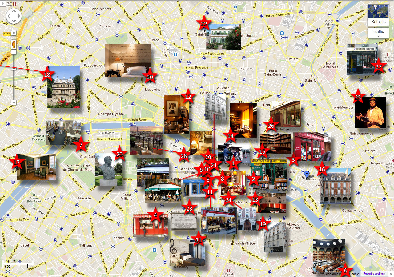 Map Of Landmarks In Paris Paris Tourist Attractions Map City Map – Paris Tourist Map English