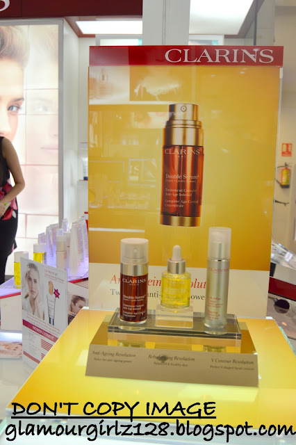 Clarins launch party