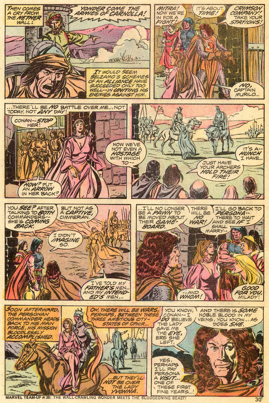 Conan the Barbarian (1970) Issue #55 #67 - English 18