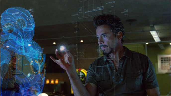 Email This BlogThis  Share to Twitter Share to FacebookIron Man Holographic Computer