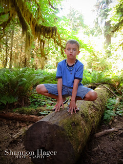 Shannon Hager Photography, Hoh Rainforest, Outdoor Portraits