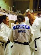 Det står N.Pernheim SWE på min rygg