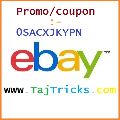 Discount coupon for ebay