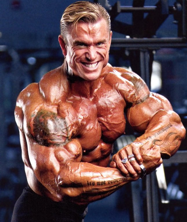 Lee Priest The Blond Myth - Bodybuilding Guide