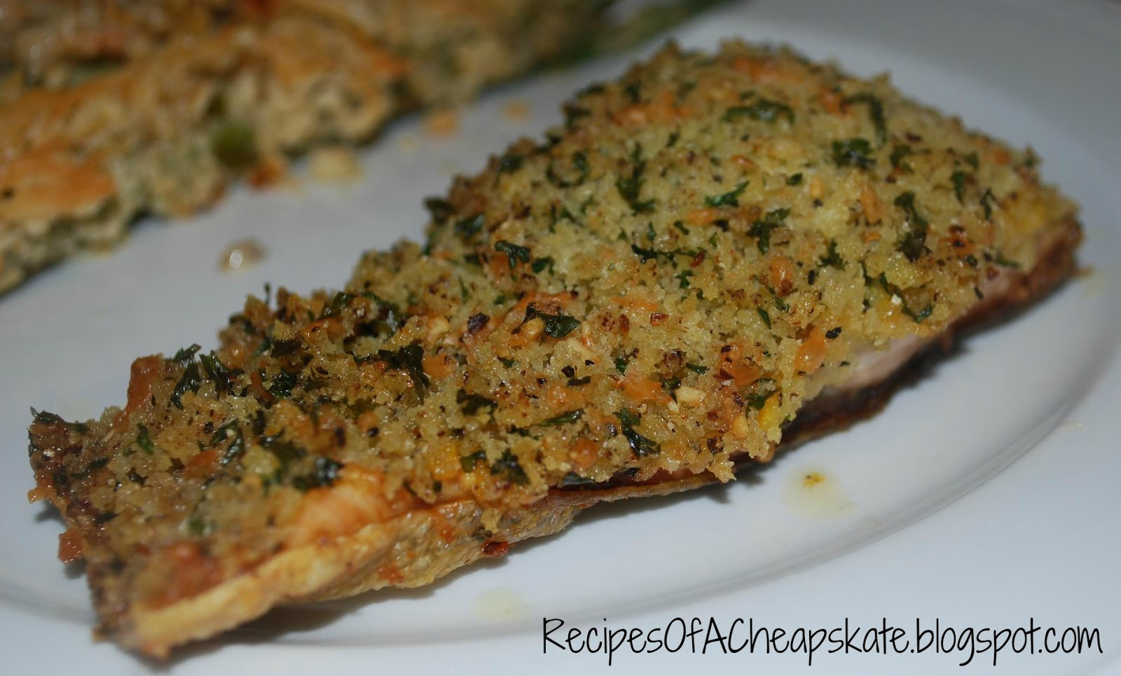 Recipes of a Cheapskate: Panko Crusted Salmon