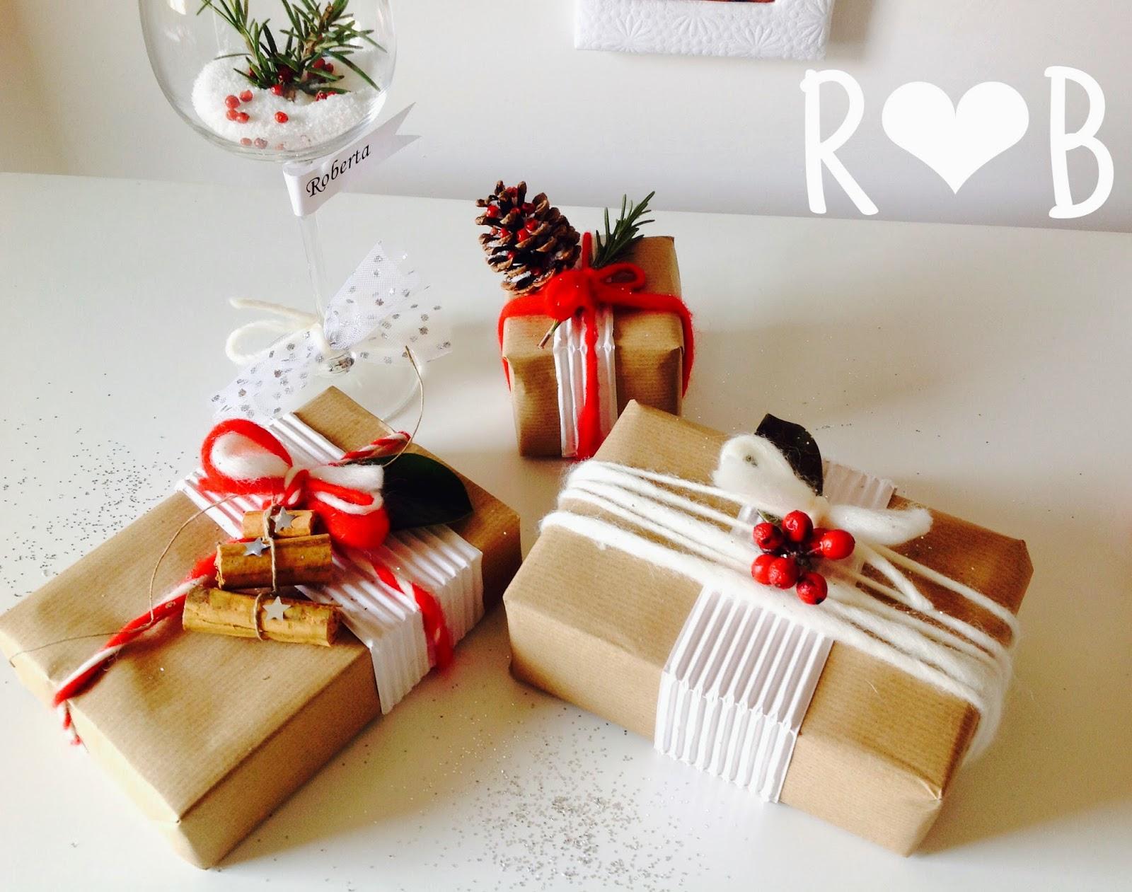 Pacchetti di Natale sale e pepe