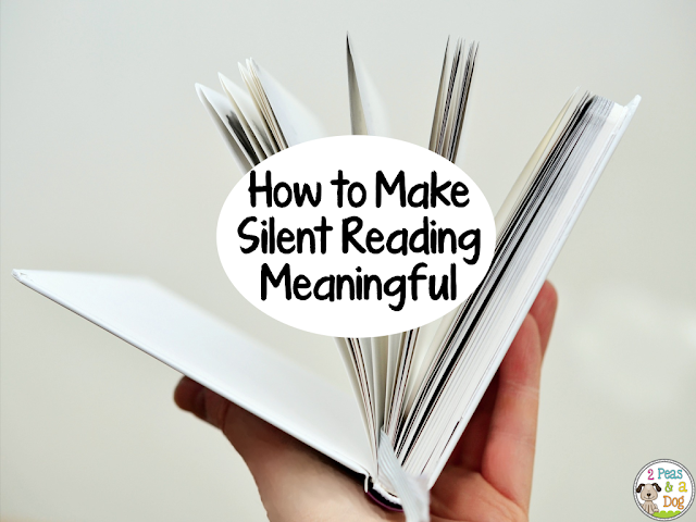 Silent reading is not a time filler activity. Make the most out of this time with your students by trying out these four tips.