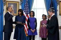 EEUU: Obama juró su segundo mandato y hoy llamará a la unidad del país