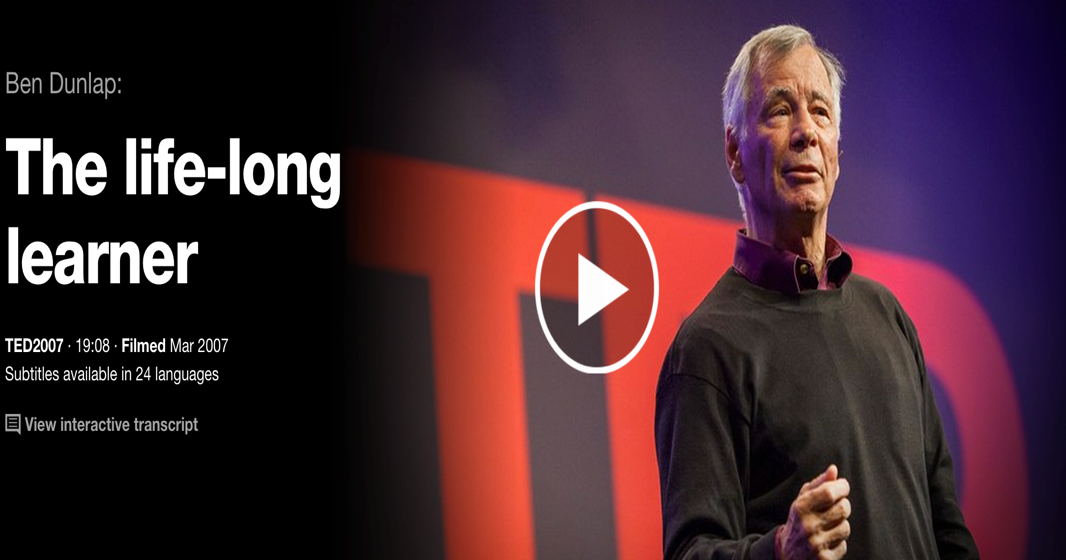 3 Must Watch TED Talks on The Power of Life Long Learning